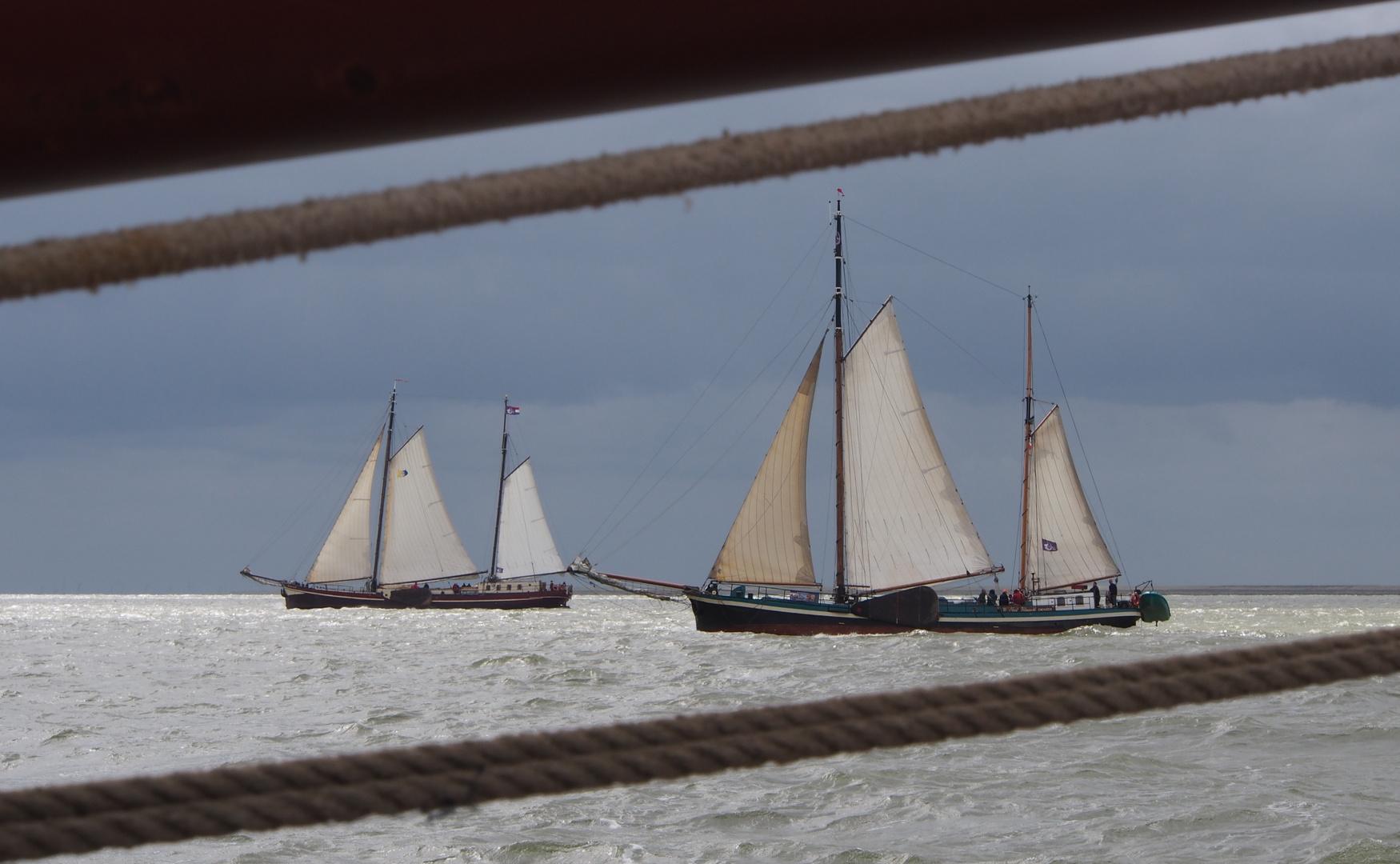 Auf dem IJsselmeer