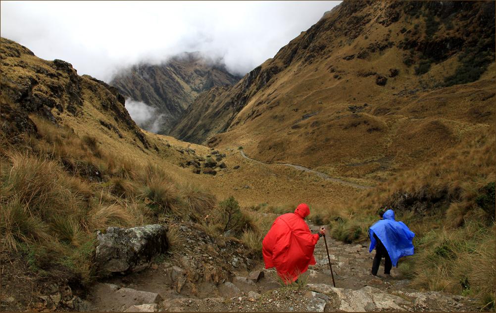 Auf dem Inka Trail