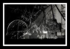 Auf dem Kirchhof bei Nacht ...