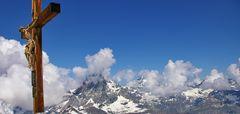 auf dem Kleinen Matterhorn