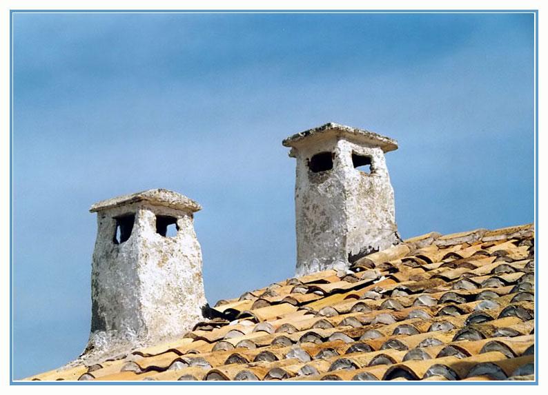 Auf dem Klosterdach...