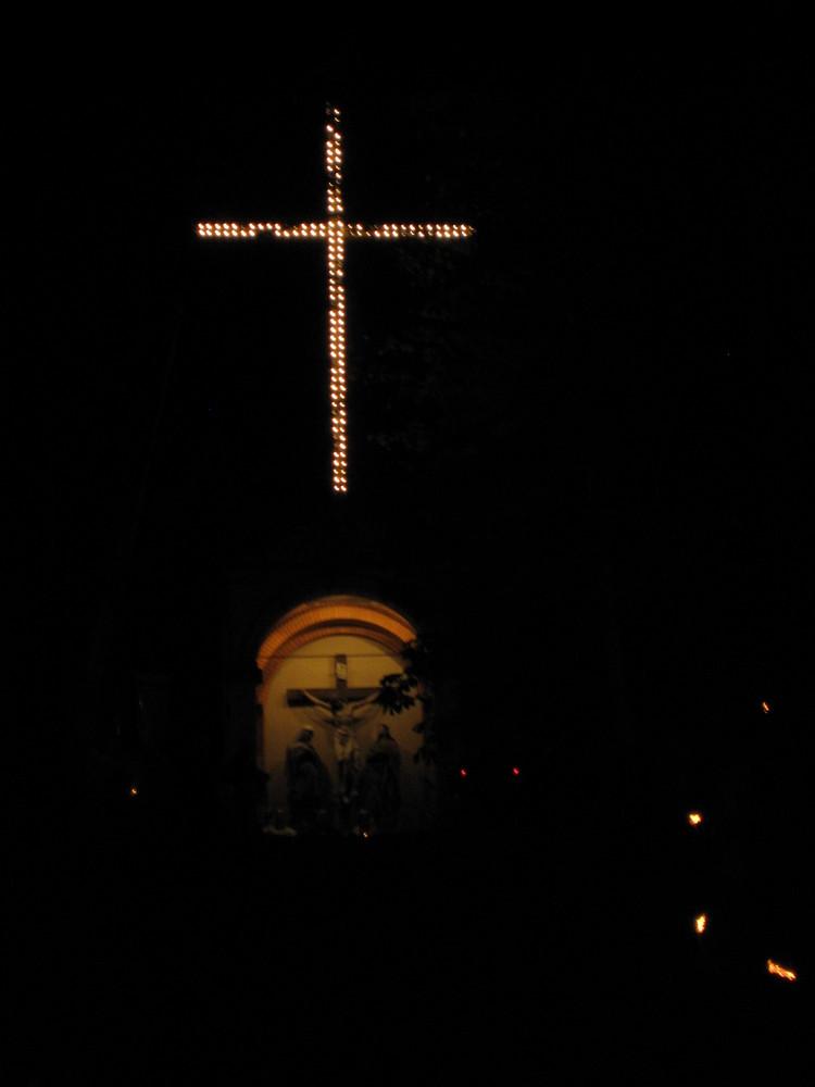 Auf dem Kreuzberg in Weingarten
