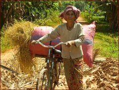 auf dem land- cambodia 2009