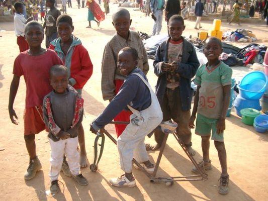 Auf dem Markt in Angola