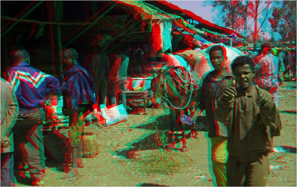 Auf dem Markt in Bahar Dar
