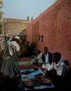 Auf dem Markt in Marrakech