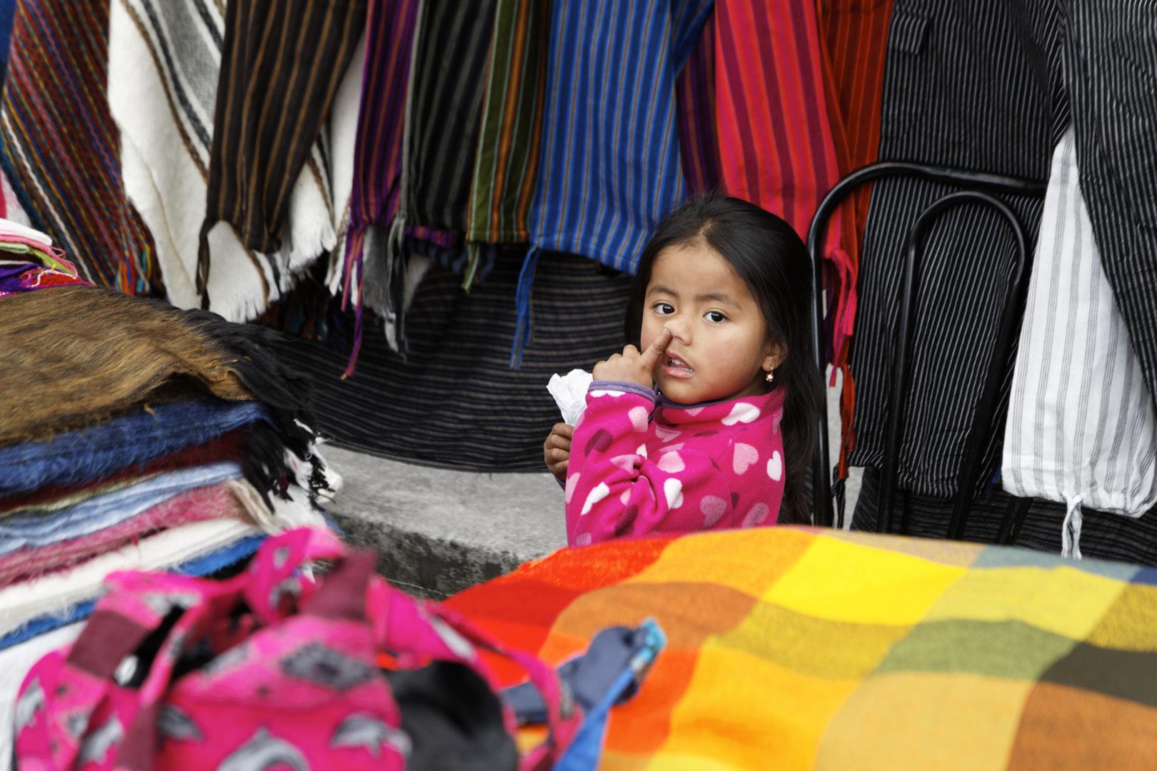 Auf dem Markt in Otavallo