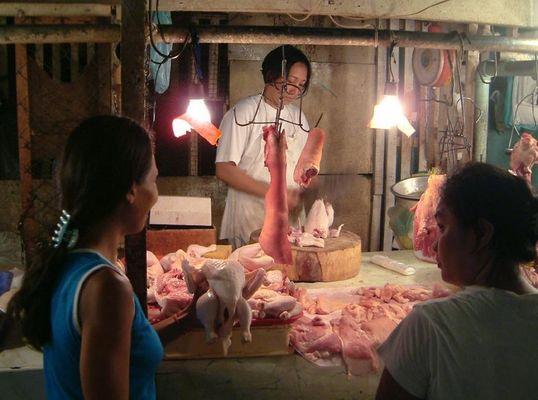 Auf dem Markt von Cebu
