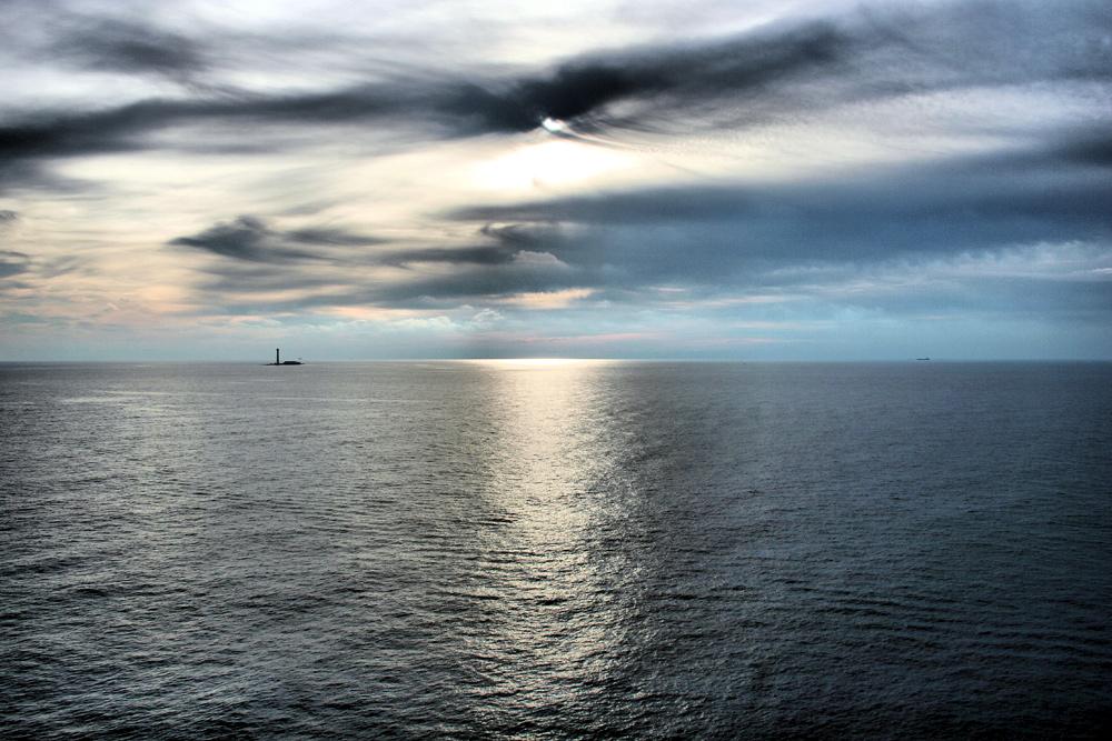 auf dem Meer...