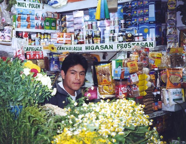 Auf dem mercado central (Lima)
