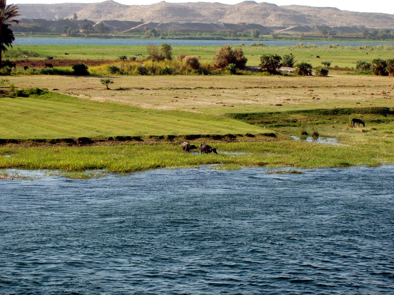 Auf dem Nil Richtung Assuan