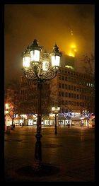 Auf dem Opernplatz Blickrichtung Commerzbank