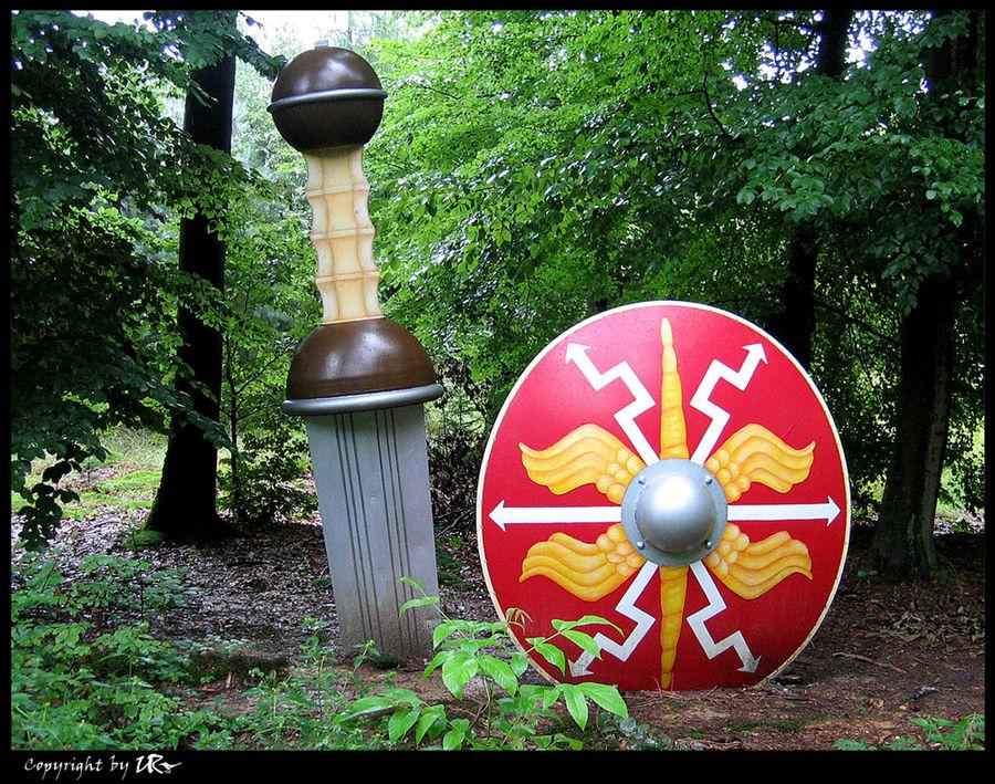 ..auf dem Pfad der Römer...