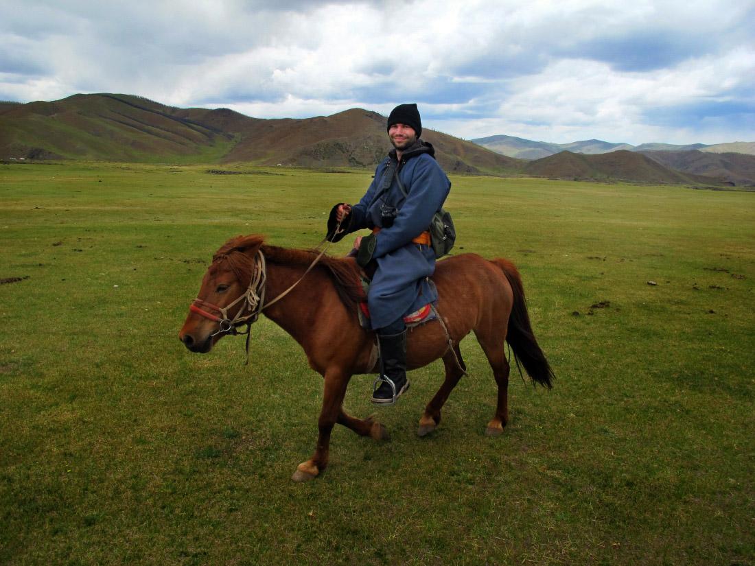 Auf dem Pferd durch Zentral Mongolei