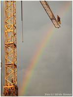 Auf dem Regenbogen.....