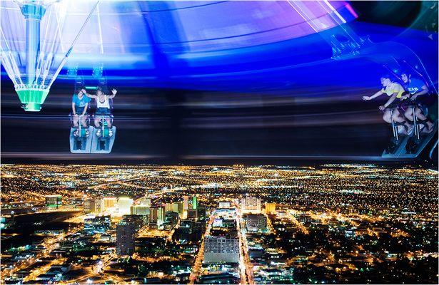 auf dem stratosphere tower