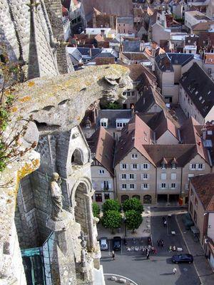 auf dem Turm der Kathedrale