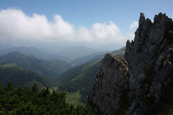 Auf dem Velky Roszutec (1610m)...