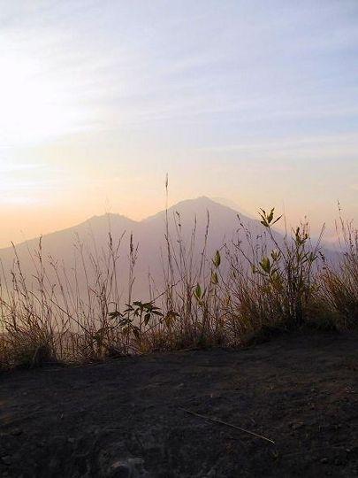 Auf dem Vulkan