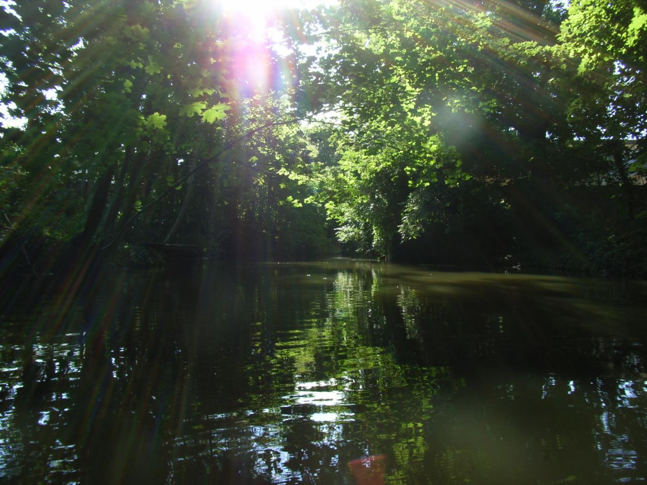 Auf dem Wasser, da ist es am schönsten...