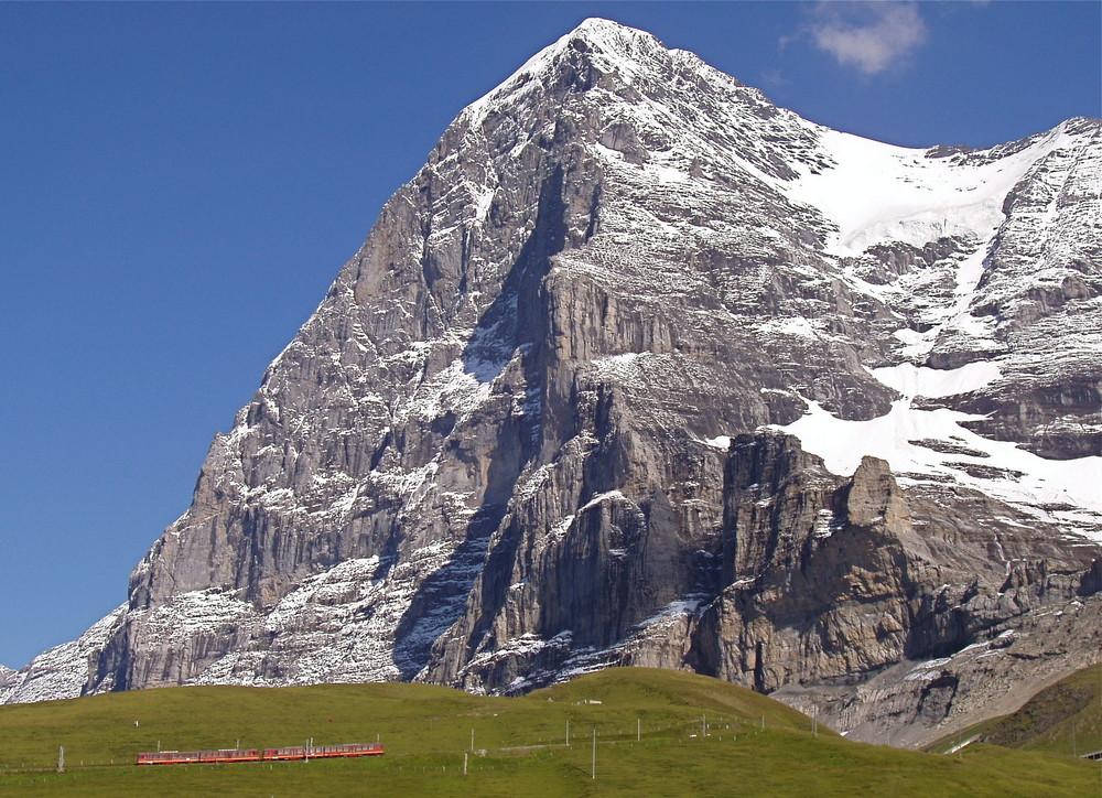 Auf dem Weg durch den Berg