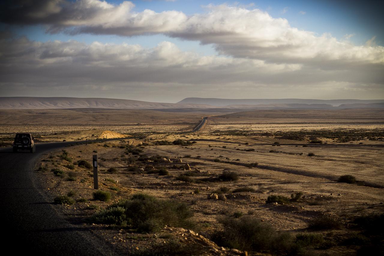 Auf dem Weg durch die Westsahara