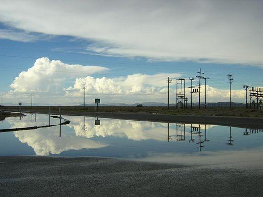 Auf dem Weg ins Death Valley