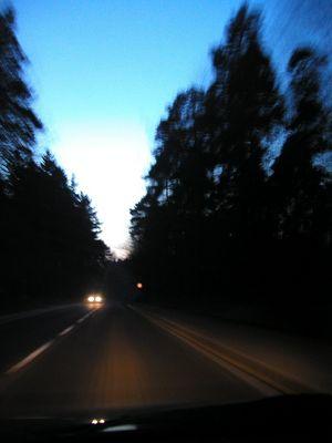 Auf dem Weg in`s Licht