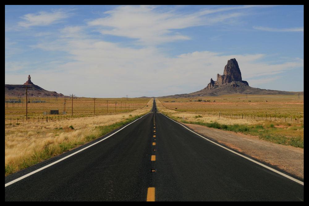 Auf dem Weg ins Monument Valley