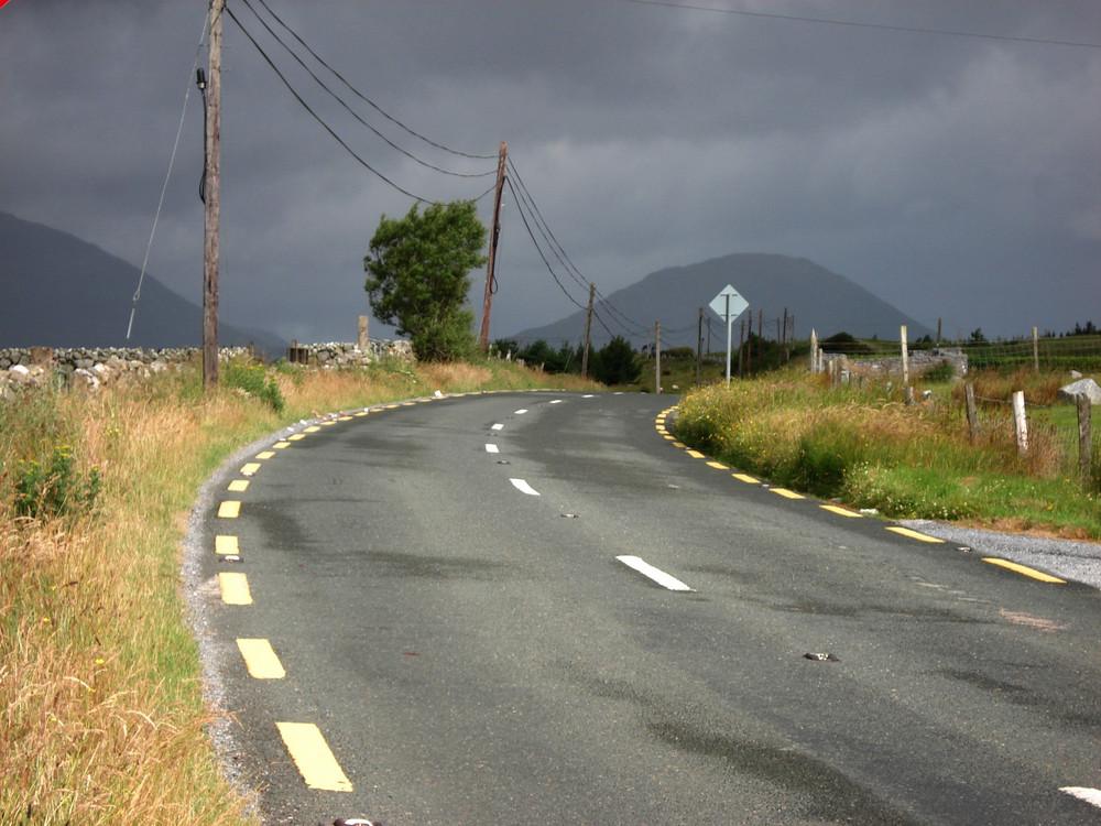 Auf dem Weg nach Connemara