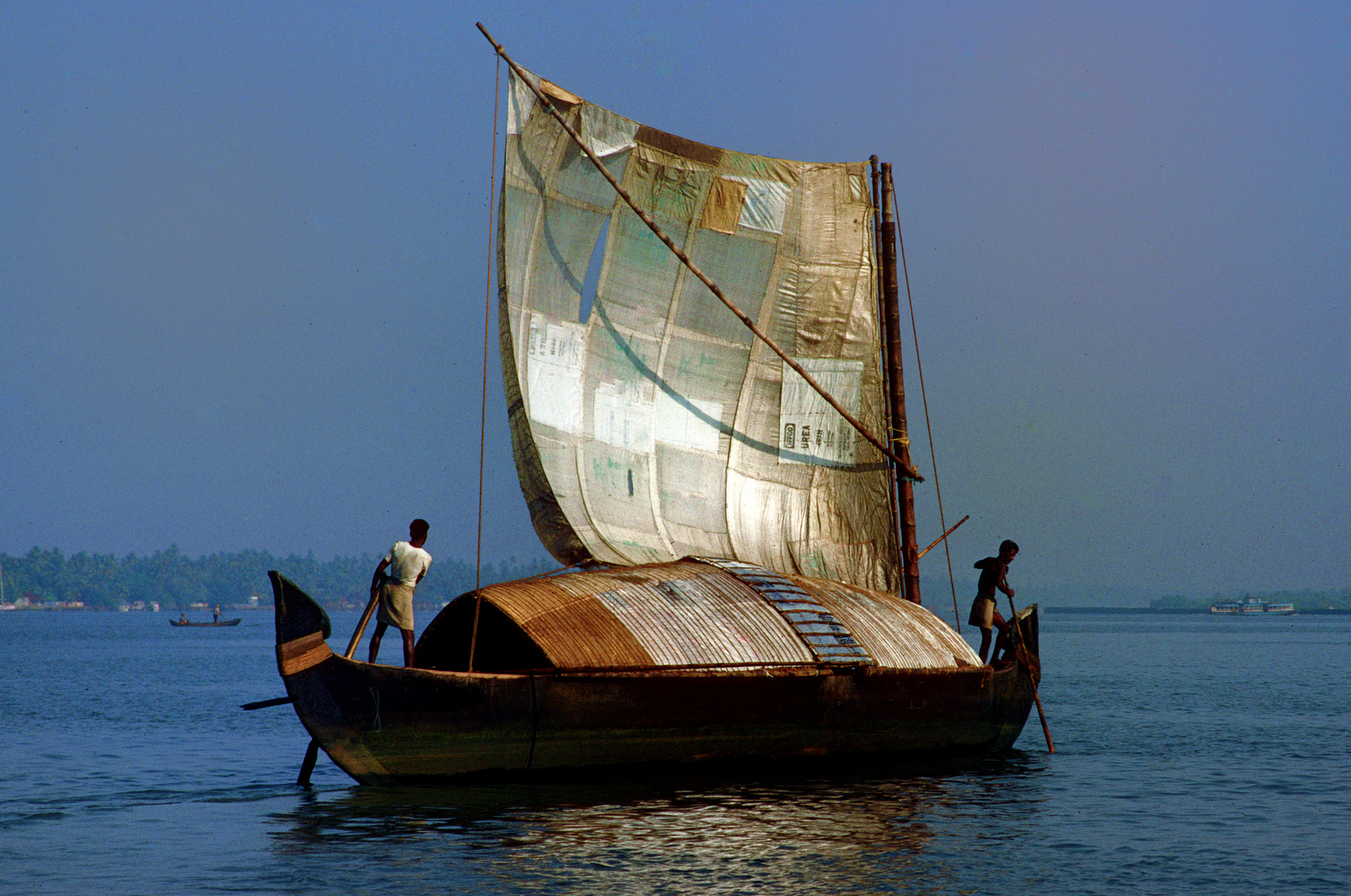 Auf dem Weg nach Ernakulam