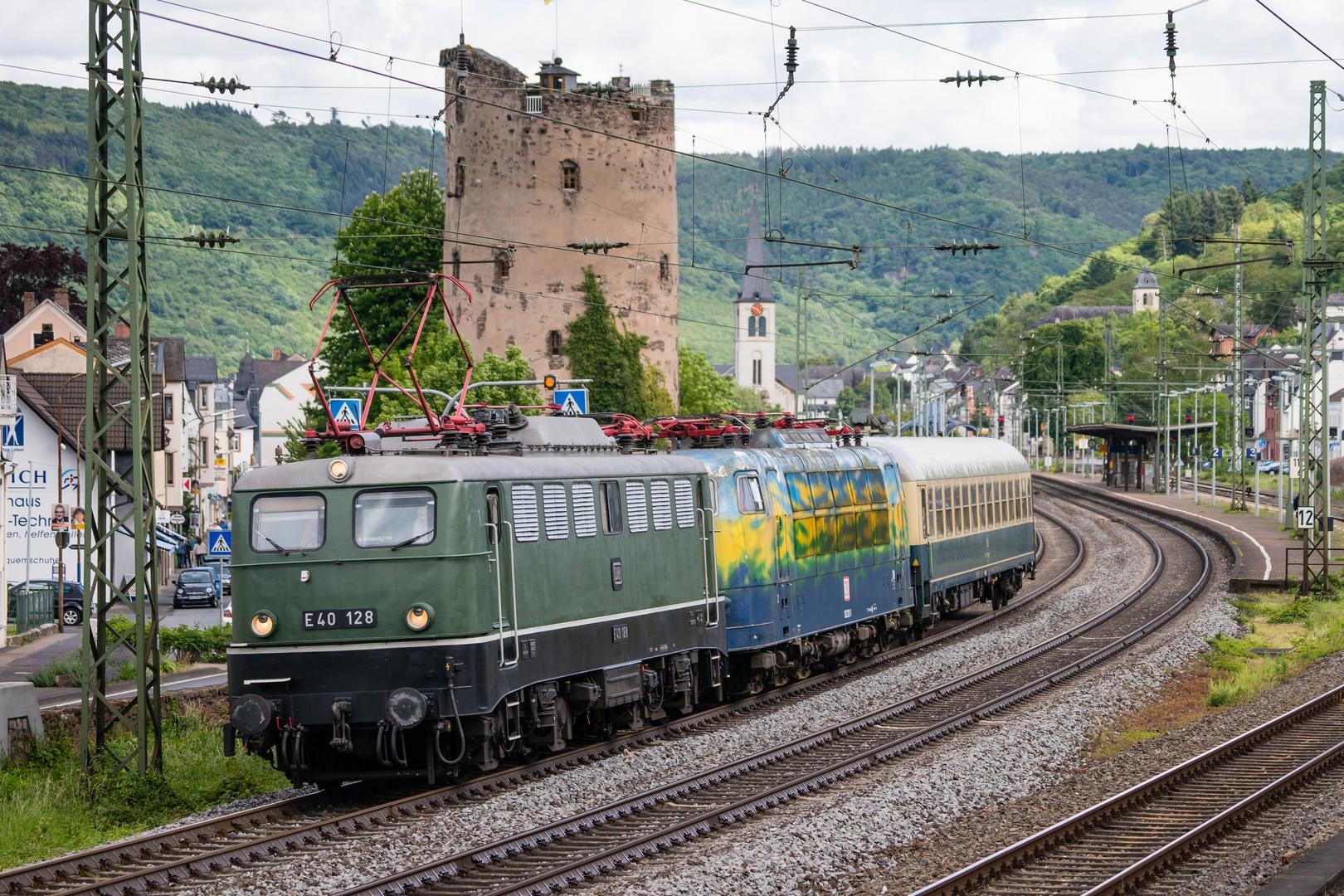 Auf dem Weg nach Koblenz...