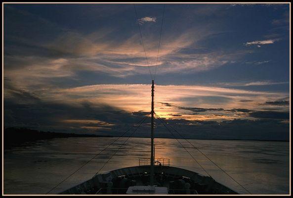... auf dem Weg nach Manaus ...