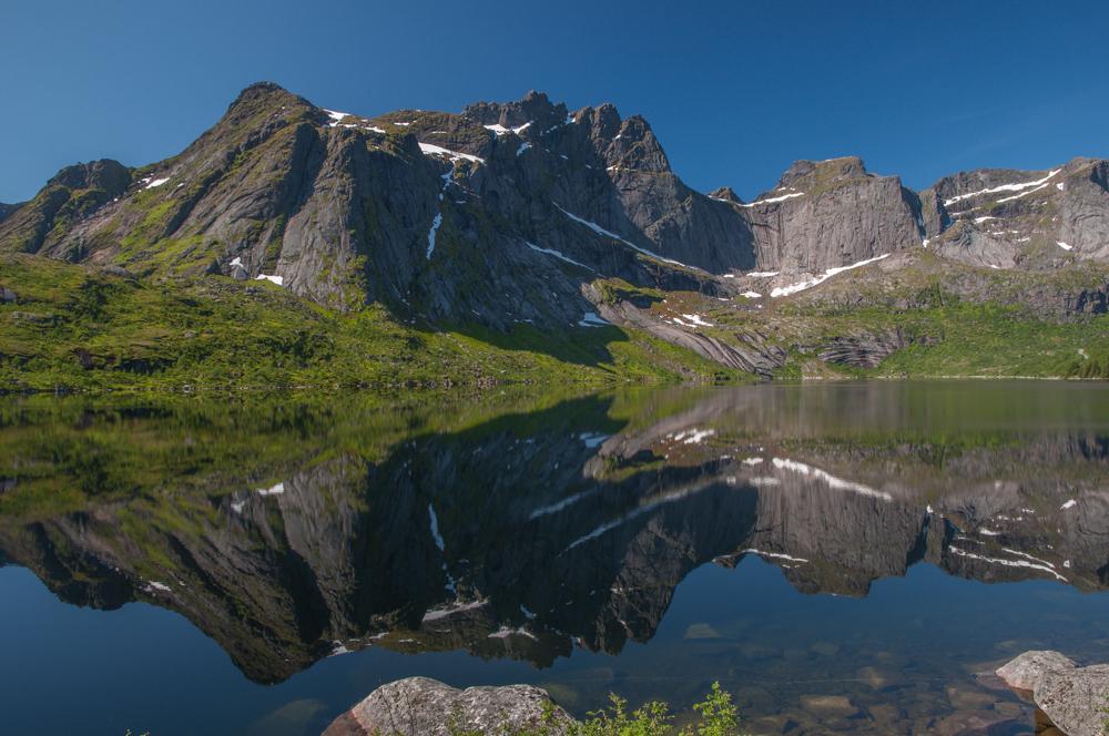 Auf dem Weg nach Nusfjord