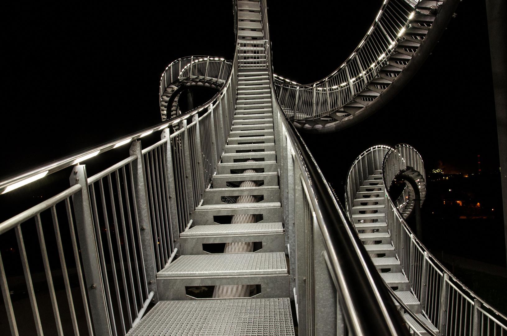 Auf dem Weg nach oben