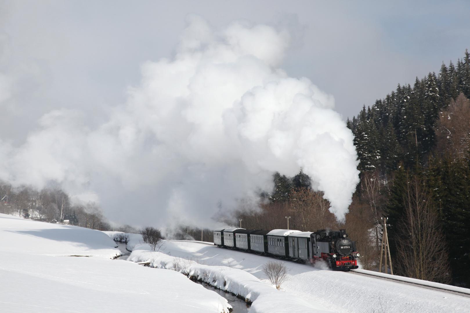 Auf dem Weg nach Oberwiesental