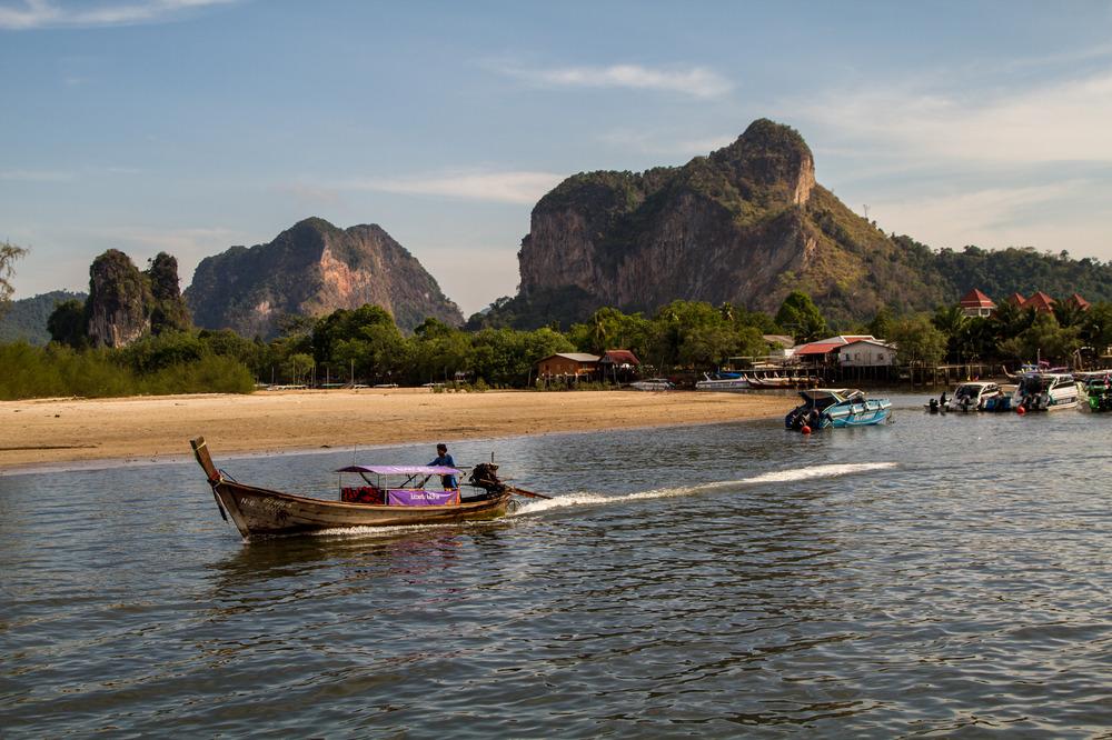 Auf dem Weg nach Phi Phi Island