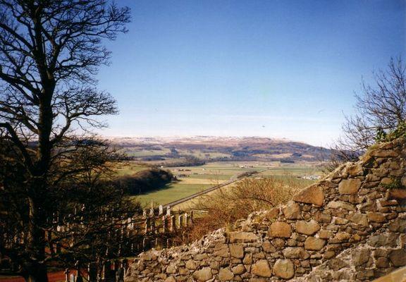 Auf dem Weg nach Stirling Castle...