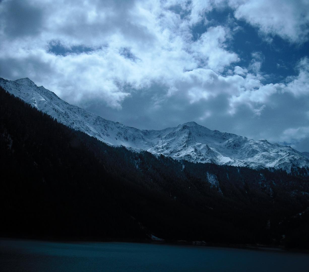 Auf dem Weg nach Südtirol