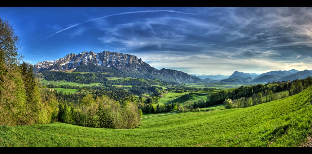 Auf dem Weg nach Tirol I Panorama