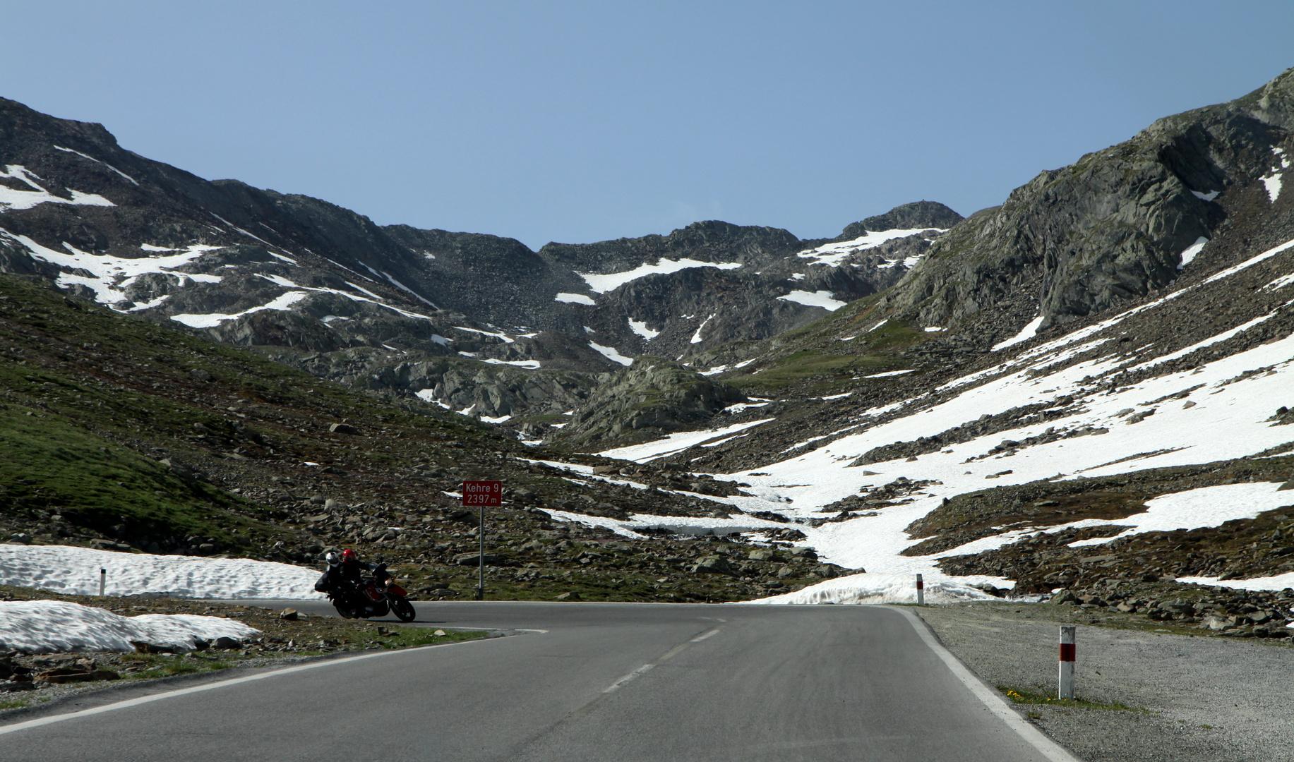 auf dem Weg vom Ötztal, Nordtirol (A)...