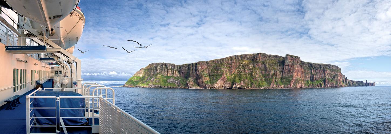 auf dem Weg zu den Orkney Inseln - Schottland