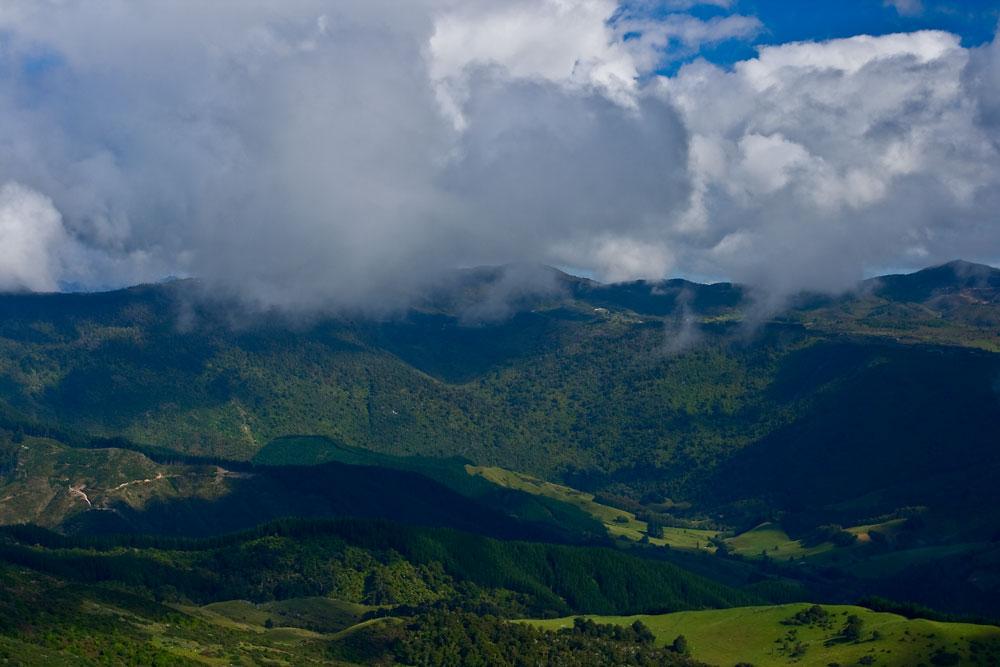 Auf dem Weg zum Abel Tasman Park III Skyview