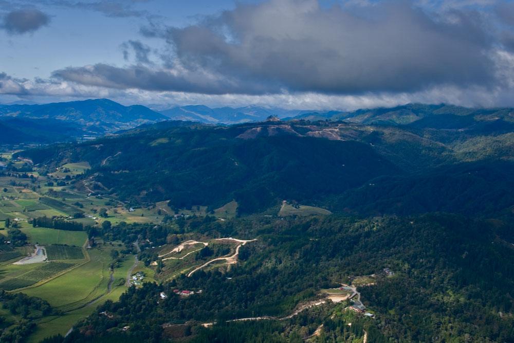 Auf dem Weg zum Abel Tasman Park IV Skyview