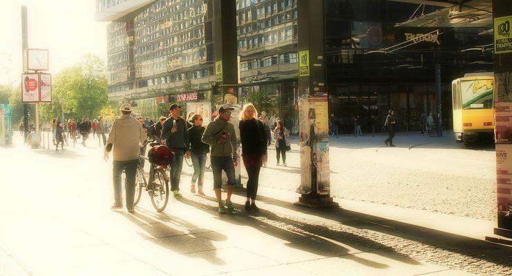 Auf dem Weg zum Alexanderplatz