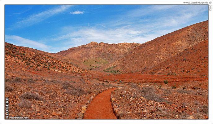 Auf dem Weg zum Degollada de los Granadillos