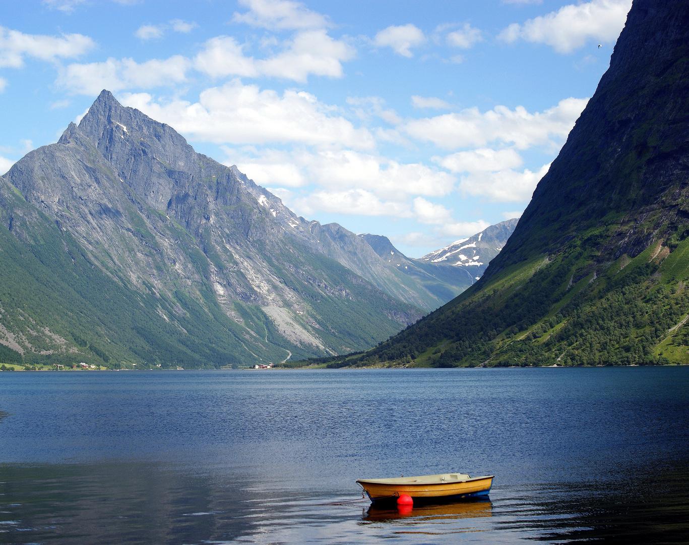 Auf dem Weg zum Geirangerfjord