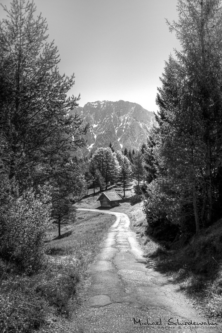 Auf dem Weg zum Hohen Kranzberg