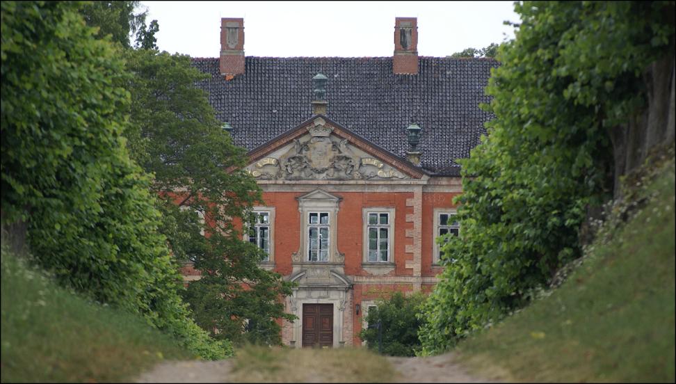 Auf dem Weg zum Schloss Bothmer