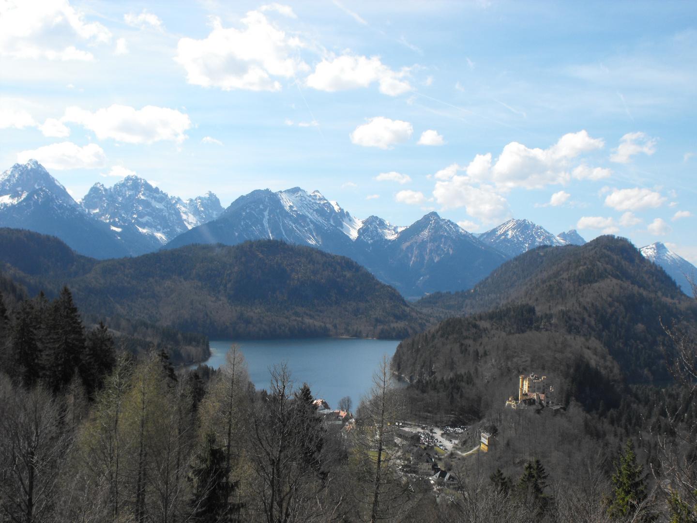 Auf dem Weg zum Schloss Neuschwanstein